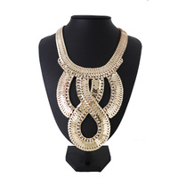 Statement Necklace gold/silve body chain salomon necklaces & pendants
