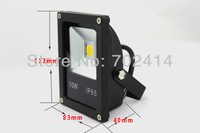 (40pcs/lot) Ultra Thin 10W LED Floodlight Outdoor LED Wash Flood light lamp Waterproof IP66 AC 85-265V free shipping