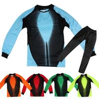 Soccer jersey set goalkeeper clothing goalkeeper uniforms