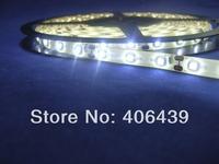 led strip 3528 waterproof IP65;Cold White color;60leds/m;5m/reel;DC12V input;white PCB