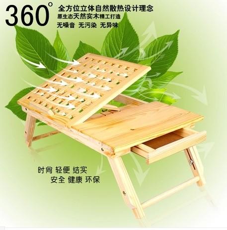 Large bed desk laptop desk lounged table human body lift(Hong Kong)