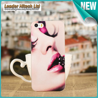 Fashion Anaglyph Cover Case for Iphone 5 Alternative Protective Iphone 5 Back Case for Free Shipping