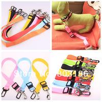 5Pcs/Lot Car Pet Seat Safety Belt  Dog Seatbelt Fixed Belts 70cm*2.5cm Free Shipping