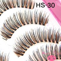 New designs fake eyelashes nice quality colorful thick false eyelashes