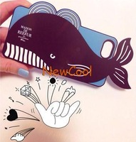 2014 Fashional New Arrival Cute Cartoon Shark Case for iPhone 5 5s 5c High Quality 1pc Free shipping