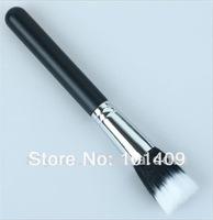 Professional Makeup Cosmetic Duo Fiber Powder Stippler Brush #187 Black Handle