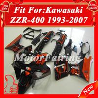 Promotion fairing kits ABS fairings for kawasaki zzr 400 93-97  zzr 400 fairing kawasaki zzr 400