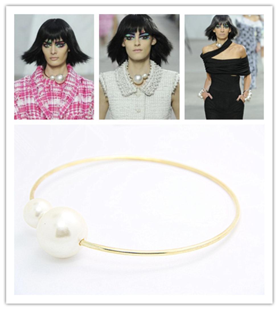 Design unico collane alla moda si presenta come auricolare con 2 pezzi