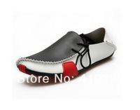 Sneakers for Men Casual Shoes Genuine Leather 2013 Driving Moccasins Slip On men's shoe Footwear Boat Shoes Loafers Men