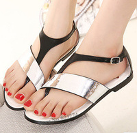 New 2014 Brand  Women Flats Sandals For Women Girls Shoes Her Summer Shoes Woman Sandal