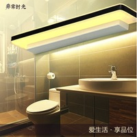 2014 NEW Bathroom Lamp Modern LED Mirror Light Acryl Bedroom Brief Cosmetic Wall Lamp 60cm 11W Free Shipping