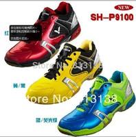 Fast Delivery 1 Pair Original  Victor SH-P9100D/E/FG profession Badminton Shoes Antiskid Ventilate Sneaker SH-P9100