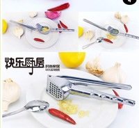 Free Shipping Garlic Crusher Peeler Spice Slicer Ginger Clear Kitchen Tools cooking tools 09002