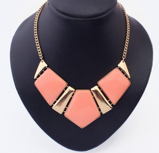 Fashion r fashion gem luxurious necklace personalized jewelry(China (Mainland))