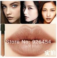 2014 New Arrival Waterproof Milik Chocolate Color Lipstick matte smooth liquid velvet lipgloss Long Lasting Lip Makeup 2pcs/lot