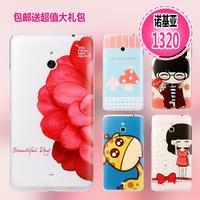 For nokia   lumia 1320 phone case mobile phone case protective case  for nokia   1320 cartoon shell