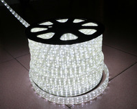 2014 Waterproof 10m/lot 220v-240v Flexible Led Strips,120leds/m Flat Five-wire System,white,can Cut Every 2m,outdoor Strip Light