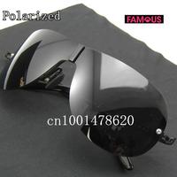 New men driving mirror yurt glasses 8490 driving designer brand polarized sunglasses for men
