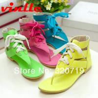 VINLLE 2014 fashion Summer Women's Sandals Summer Roman sandals low heel shoes ,lady casual Flat sandals size 34-43