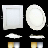 wholesale 40pieces/carton  6W  led penal lights ceiling light 3year warranty led indoor spotlight+free shipping