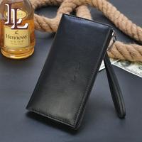 Wallet male long design wallet clutch male wallet fashion cowhide mobile phone bag