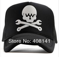 Net of hip-hop cap baseball cap sunshade hat hat for man street dance wrench ghost head cap