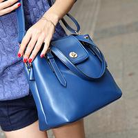 Bags fashion vintage 2014 bucket bag candy color women's messenger bag handbag bag