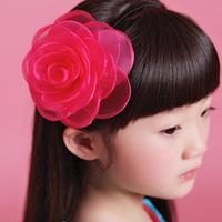 Book original design camellia flower hair bands 14p003