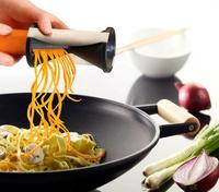 3pcs/lot,kitchen tools Spirelli Grater Vegetable Julienne Spiral Slicer,Spiral Vegetable & Fruit Slicer Twister Vegetable Cutter