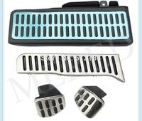 4pcs/set MT pedals For Volkswagen VW Golf MK6 Jetta MK5 Sciroccor Skoda Octavia Pedal Clutch Gas Footrest  Brake pedals