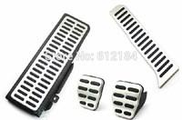 4pcs/set MT Car Brake Clutch Pedals For Volkswagen VW Passat B6 B7L CC Superb Pedal Fuel Footrest Accelerator Brake pedals