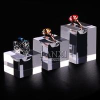 free shipping NCFANXI YJ123 organ ring display,Acrylic ring holders set,high quanlity ring stand