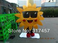 2014 NEW ARRIVE USA Mr. Sun Fancy Dress Mascot Costume Adult Character  Cosplay mascot costume free shipping