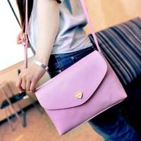 free shipping vintage small women's handbag women's handbag messenger bag taro candy color bag