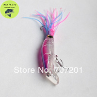 Fishing Lure Squirt Octopus Skirt Trolling Bait Baites Lures 235mm 40g Big Game Lure VMC hook