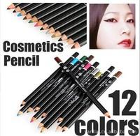 12pcs/set  Eyeliner Pencil Water Proof  Make up Eye liner Tools 12colors 3g Long-Lasting Eye liner Pen Portable