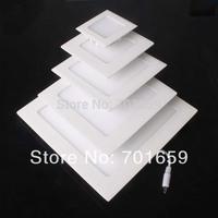 18W Ceiling light Led Panel Lamp AC85-265V Square Led Lighs Indoor Lighting White/Warm white