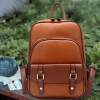 *  women's backpack handbag preppy style backpack casual vintage back