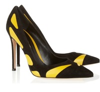 New! orginal Jimmy women pumps jc sexy pionted toe jc color-mathcing fine heel fashion women high heels free shipping