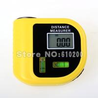 Level measurement instrument Digital laser designator LCD ultrasonic rangefinder electronic tape measure free shipping
