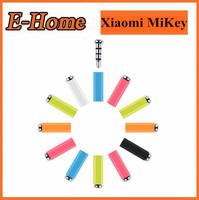 NEW Original Xiaomi MiKey mi key quick button dustproof plug Earphone Jack Plug for XIAOMI Mi2s Hongmi MI3 phones Free Shipping