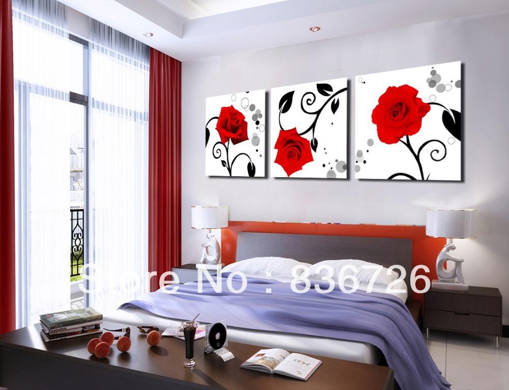 slaapkamer zwart wit rood  consenza for ., Meubels Ideeën