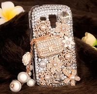 For Samsung S7562 Rhinestone mobile phone case -Luxury full drill