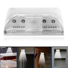 2014 New arrival Hot sale 4 LEDs Light Spot PIR Auto Wireless Keyhole Sensor Motion Detector Lamp  Freeshipping Feida(China (Mainland))