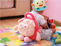 2014 New Arrival Quality Cute 3D METOO Animal Plush Backpack Schoolbag Cute Bear Child PRE School Kid Cartoon Bag B-0021