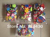 Hot sell 50pcs/lot Free shipping Mini Rubber band Loom charm braclet charms mix style