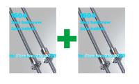 16mm ballscrew SFU1604  4set L300mm (according drawing processing)