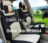 wholesale Generic car version Seat Cover For Volkswagen Polo Jetta Bora Santana Vista Lavida Golf With +logo full Covers set