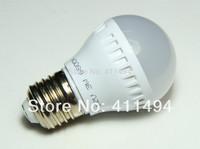 5PCS/lot DC12V LED Bulb Lamp E27 2835SMD 3W Cold white Free shipping