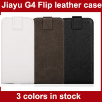 Original case for Jiayu G4 G4S G4C black white Brown in stock PU leather case high quanlity